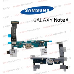 CABLE FLEX CONECTOR MICRO USB + MICROFONO SAMSUNG GALAXY NOTE 4 N910F