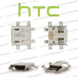 CONECTOR MICRO USB 5PIN - HTC A8181/G7 /BQ Curie2