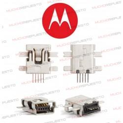 CONECTOR MINI USB MOTOROLA...