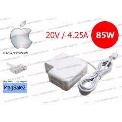 CARGADOR Apple Magsafe2 Macbook 20V 4.25A 85W