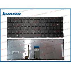 TECLADO LENOVO 100S-14IBR / 300S-14ISK (ILUMINADO)