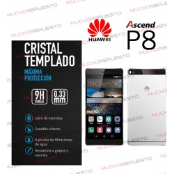 PROTECTOR CRISTAL TEMPLADO HUAWEI ASCEND P8
