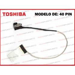 CABLE LCD TOSHIBA L50-B/L50D-B/L55-B/L55D-B/L55T-B/S50-B/S55-B/S55T-B (40PIN)