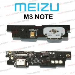 PLACA CONECTOR USB + MICROFONO MEIZU M3 NOTE