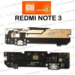 PLACA CONECTOR USB XIAOMI RedMi Note 3
