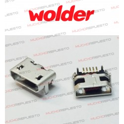 CONECTOR MICRO USB WOLDER...