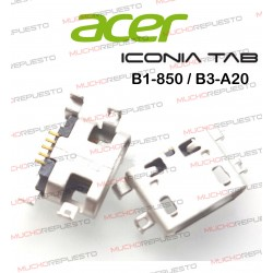 CONECTOR USB TABLET ACER Iconia One B3-A20 / B1-850