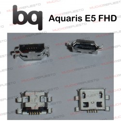 CONECTOR MICROUSB CARGA / DATOS BQ AQUARIS E5 FHD
