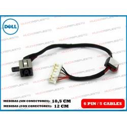 CONECTOR ALIMENTACION DELL Inspiron 15-5000 / 5551 / 5552 / 5555 / 5558 / 5559
