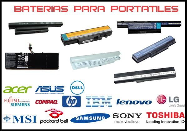 Baterías para Portátiles